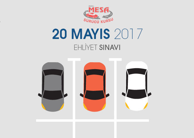 20 Mayıs 2017 Ehliyet Sınavı