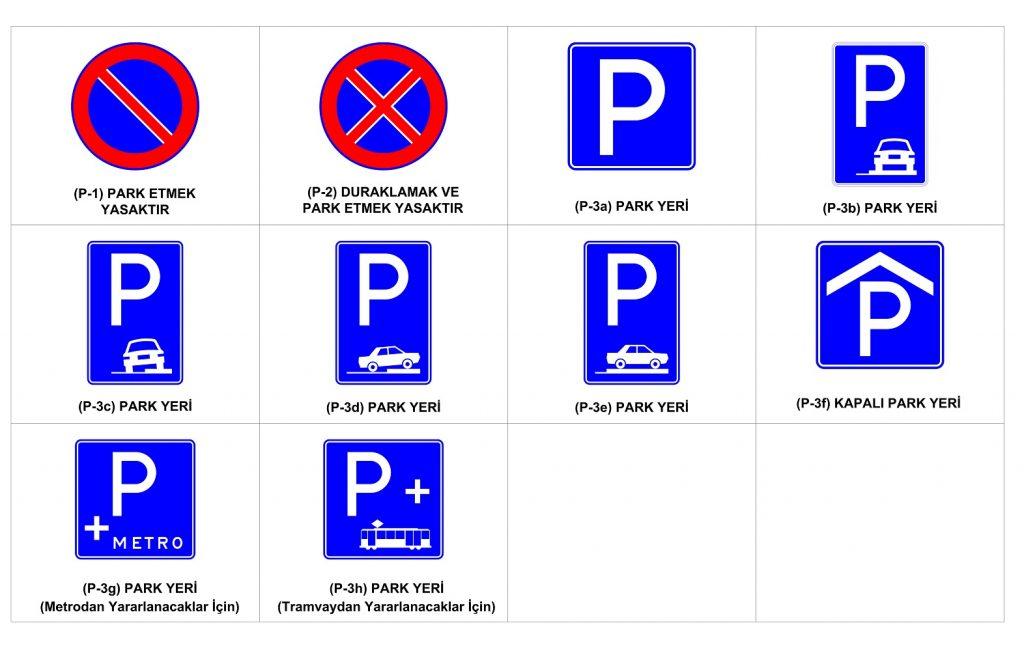 Durma Park Etme İşaretleri